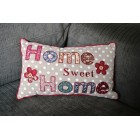 Patchwork Home Sweet Home Cushion