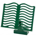 Cast Iron Cook Book Stand - Green