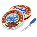Camembert Cheese Platter and Knife