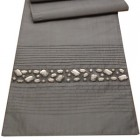 Odeon Pewter Table Runner By Peggy Wilkins