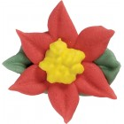 Poinsettia Sugarcraft Cake Toppers