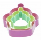 Sweetly Does It Set of Three Cupcake Shaped Cookie Cutters