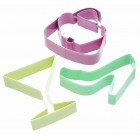 Sweetly Does It Set of Three Glamourous Cookie Cutters