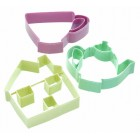 Sweetly Does It Set of Three Tea Set Cookie Cutters