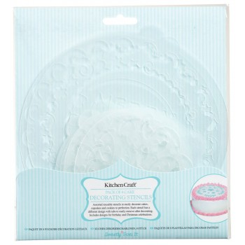 Sweetly Does It Decorative Cake Stencils
