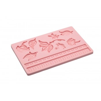 Sweetly Does It Leaves Silicone Fondant Mould