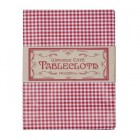 Classic Cafe Red Gingham Wipe-Clean  Tablecloth