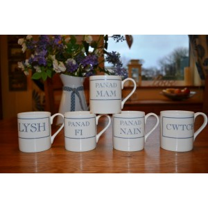Stubbs Fine Bone China Mugs