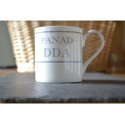Panad Dda Fine Bone China Mug