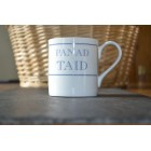 Panad Taid Fine Bone China Mug
