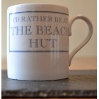 I'd Rather Be At The Beach Hut Fine Bone China Mug