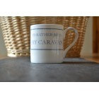I'd Rather Be In My Caravan Fine Bone China Mug