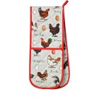 Ulster Weavers Madeleine Floyd Chicken & Egg Double Oven Glove